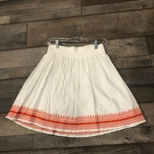 Skirt knee length